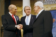 Aptopix Bush US Mideast Summit