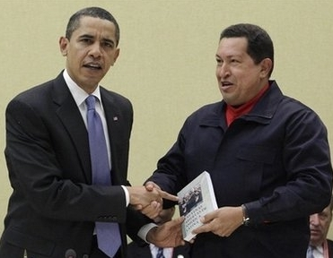 Chavez & Obama