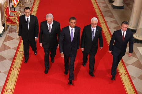 Obama, Mideast Leaders Deliver Statements On Peace Process